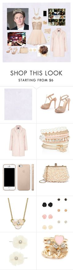 """""""Karaoke Party To Celebrate """"Story of My Life"""""""" by mary-5so1ds ❤ liked on Polyvore featuring MAX KIBARDIN, Topshop, Forever New, GUESS by Marciano, Kate Spade, Aéropostale, Oasis and Charlotte Russe"""