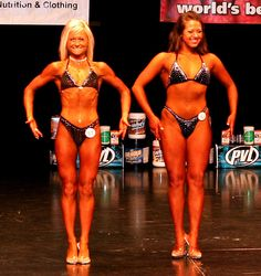 The girl on the right is only 16, it was her first competition. Very impressive.     Step-by-step you will get excellent results if you're persistent  Visit http://okbehealthy.com