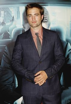 He looks like sin in a suit. Rob