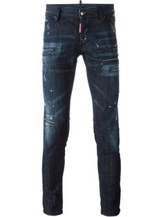 Shop Dsquared2 'Clement' jeans in Il Faro from the world's best independent boutiques at farfetch.com. Shop 300 boutiques at one address.