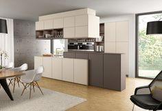 Gestaltungselemente › Ausstattung › Küchen   Marken-Einbauküchen der LEICHT…