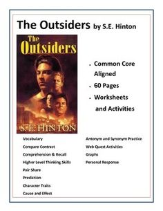 How could my Outsiders novel essay be improved?