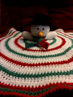 Snowman Lovey  Note this is a purchase pattern from Ravery $3.50