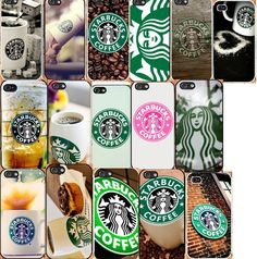 iPhone 5 / 5S hard case cover starbucks coffee #NONGCHAO