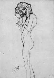Klimt, student drawing