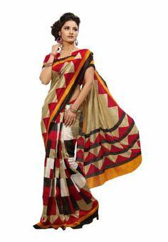 #Bollywood #Silk #Printed #Saree
