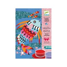Arenas Coloreadas - Peces Arcoíris Djeco DJC-38661 Kinuma.com