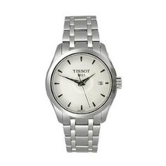 Tissot T-Trend Couturier White Dial Women's watch.