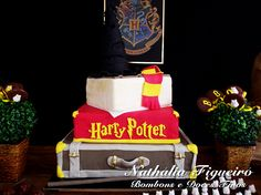 Bolo artístico Harry Potter!