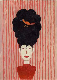 Illustration Martin Jarrie (XXe, Paris), Fille.