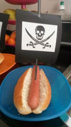Koken met een uitdaging: Piraten broodje knakworst