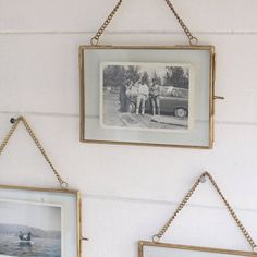 hanging picture frame by idyll home ltd | notonthehighstreet.com