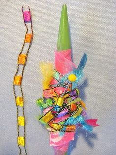 How to Make Fabric Beads by Alma Stoller