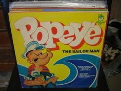 POPEYE the Sailor Musical Stories vinyl LP Peter Pan