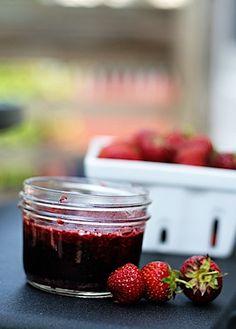 Strawberry Red Wine Jam