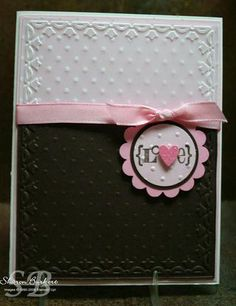 Vellum meets Double folder embossing
