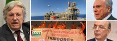 Por Dentro... em Rosa: A entrega do nosso petróleo do Pré-Sal