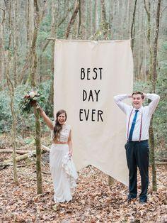 Fun photo idea for a wedding!