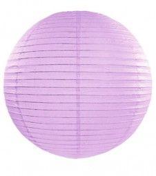 Papierlampion - lavendel - 45 cm