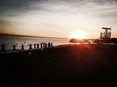 NRG2GO sunset yoga at Gran Ventana Beach Resort.
