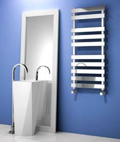 Reina Kreon Stainless Steel Designer Towel Rail  | Stainless Steel Bathroom Accessories | BetterBathrooms.com