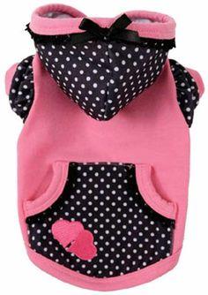 Pink Double Heart Hoodie