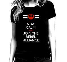 Star Wars Rebel Alliance Black T Shirt for by repurposefulPUNK, $24.00