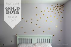 How to Add Gold Dots