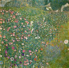 Klimt, Gustav - Italian Garden Landscape - Wall Mural & Photo Wallpaper - Photowall