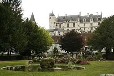 Loches France...Love this village!