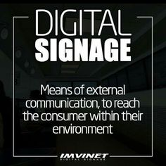 To understand what Digital Billboards can do for your brand we must understand that Digital Signage is a means of external communication to share our advertising messages visually through the highest technology to reach the consumer within their environment.  We know how to make a digital signage circuit successful if you want to know more contact us via e-mail at info@imvinet.com or visit our website www.imvinet.com #digitalboards  #digital  #digitalsignage  #menuboards  #informations…