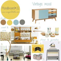 My moodboard on Wednesday  - Moddobard#22 - vintage mood