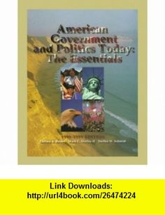 American Government and Politics Today The Essentials, 1998-1999 (Political Science Series) (9780534539016) Barbara A. Bardes, MacK C. Shelley, Steffen W. Schmidt , ISBN-10: 0534539017  , ISBN-13: 978-0534539016 ,  , tutorials , pdf , ebook , torrent , downloads , rapidshare , filesonic , hotfile , megaupload , fileserve
