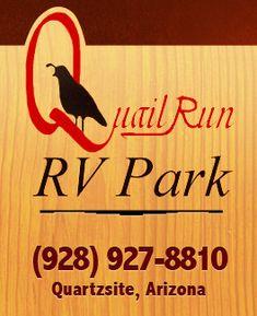 Quail Run RV Park In Quartzsite AZ