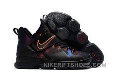 712887fdf4bb Nike LeBron 14 SBR Black Orange Red Cheap To Buy