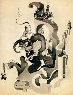 dr. seuss art | The Secret Art of Dr. Seuss