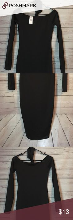 Wet Seal Choker Dress Cute little black dress with choker included. Size x-small in women's. Brand new with tag! Wet Seal Dresses Midi