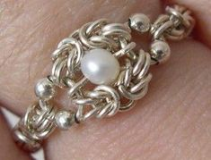 Introduction to Chainmaille Tutorial by ka... | Jewelry Ideas
