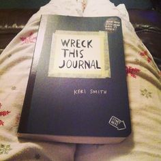 Just started a Wreck This Journal, so much fun!! You can get them from Urban Outfitters :)