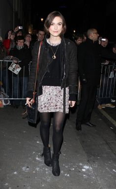 Keira Knightley     J'adore cette tenue !