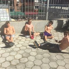 The..vamps..shirtless.. all..4..of..them..and..down..I..go..and..I've..died..