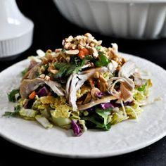 Thai Crunch Chicken Salad Recipe | Yummly
