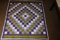 Trip Around the World Quilt made by Angela Spradlin - Hillside Hobby Quilts on Etsy!!!