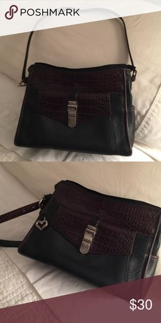 """Brighton Purse 👛 Nice gently used handbag. Authentic Brighton shoulder bag. The inside has a few stains that could be easily cleaned. 12"""" shoulder strap. Price is fraction of original. Brighton Bags Shoulder Bags"""