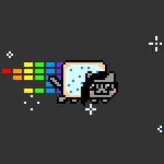 nyanskrill, but im pretty sure the music they use on the nyan cat website is the Alex S remix of the original