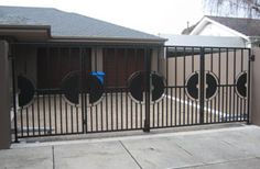 Residential bi folding gates