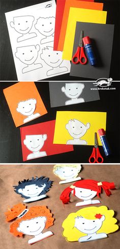 2 Toddler Activities, Preschool Activities, Cutting Activities, Nursery Activities, Kids Crafts, Arte Elemental, Classe D'art, Art Classroom, Elementary Art