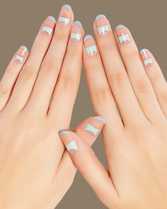 8 must-try negative space manicures to try for the spring.