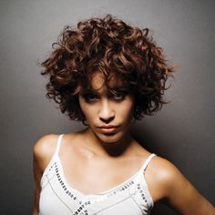 Short perm. Would be awesome when I grow out my pixie.