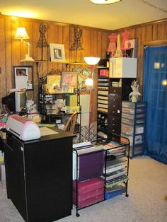 Good things come from small spaces. - Scrapbook.com ~ Awesome use of a small space.